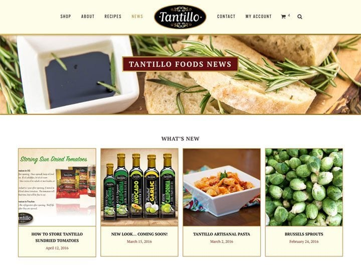 Tantillo Foods News Capture