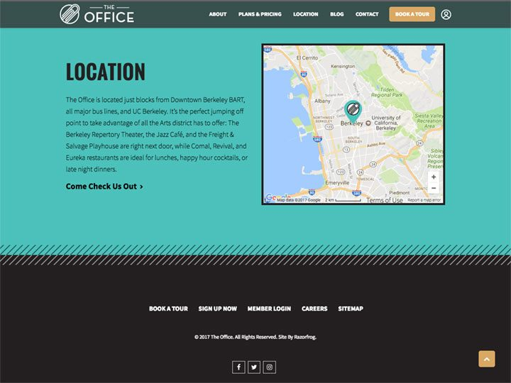 The Office Footer
