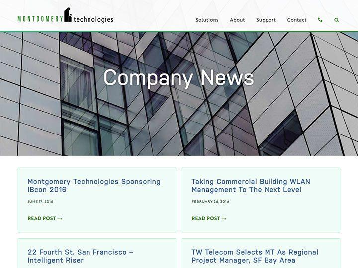 Montgomery Technologies News Page