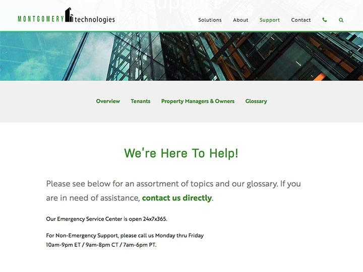 Montgomery Technologies Support Page
