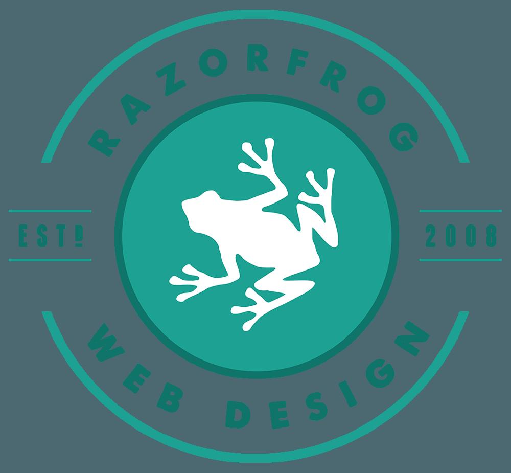 Razorfrog Vintage Logo Turquoise Retina