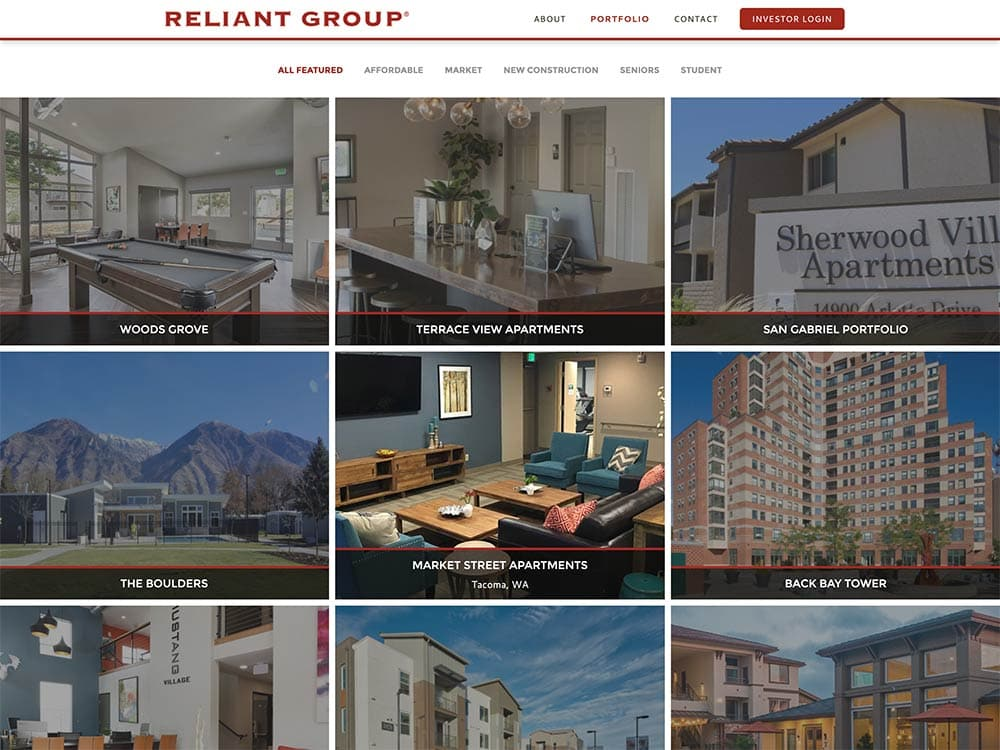 Reliant Group Portfolio Page 2